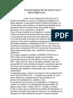 RIOS DE DROGAS FARMACEUTICAS EN USA Y GRAN BRETAÑA