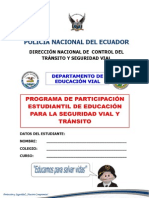 Manual Estudiantil de Seguridad Vial Full