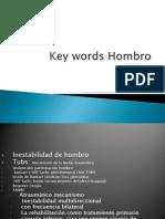 Key Words Hombro