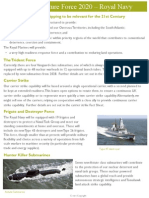 Royal Navy - Future Force 2020