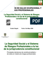 laseguridadsocialyelsistemaderiesgosprofesionales-100617164806-phpapp01