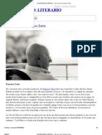MOLESKINE ® LITERARIO — El raro-raro Francisco Tario