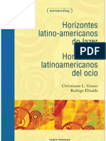 Horizontes Latino Americanos Lazer Junho 20123