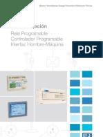 WEG Rele Programable Controlador Programable Tp 03 y Interfaz Hombre Maquina 50029483 Catalogo Espanol
