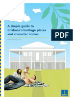 Guide to Brisbane Heritage Houses and Character Homes
