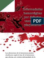 Enfermedades Hemorragicas Por Defectos Vasculares Y Plaquetarios