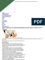 Instrucciones para un intelectual latinoamericano que quiera escribir en el El País _ Comunicacion Popular