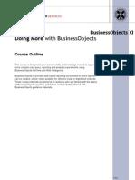 DoingMore-BusinessObjectsXI