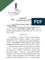 144855800 Referatul Procurorilor DNA Cazul Sorin Alexandrescu
