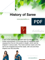 History of Saree