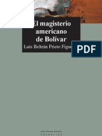 Magisterio Americano[1]
