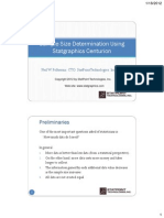 Sample Size Determination Webinar