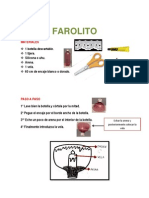 Farolito x