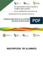 Normas Control Escolar- Reunion Veracruz