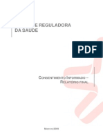 Consentimento Informado - Entidade Reguladora Da Sade