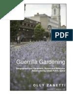 Guerilla Gardening Manual