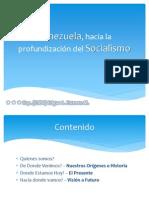 Venezuela, hacia la profundización del Socialismo