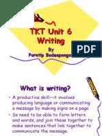 TKT Unit 6_writing