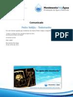 Testemunho Pedro Valdjiu