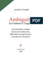 Ambiguita Tra Italiano e Inglese