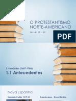 o Protestantismo Norte-Americano