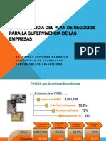 La Importancia Plan de Negocios PYMES