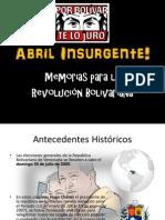Abril Insurgente!