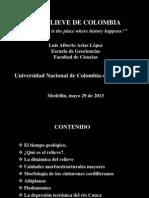 Conferencia_el Relieve de Colombia_mayo 29 de 2013_facultad Dee Minas