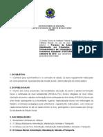 Edital Institucional Assistencia Estudantil