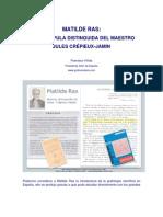 Semblanza - Matilde Ras