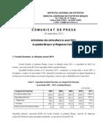 Activitatea Din Silvicultura in Anul 2011 in Jud.brasOV
