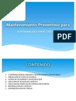 Mantenimiento Preventivo SW
