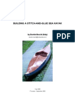 Building a Stitch and Glue Sea Kayak - Boschi 2000