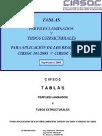 Tablas Perfiles - Cirsoc