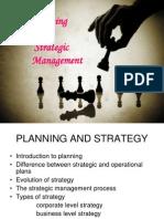 Stategic Planning