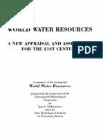 World Water Resources Shiklomanov