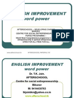 23 July English Word Power