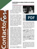 Contacto Foro - Octubre 2012