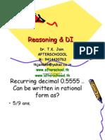 6 June Reasoning & DI III
