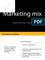 Manual - Las 4p - Marketing Mix