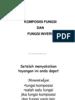Presentasi Matematika Kelas Xi Komposisi Fungsi