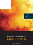 Linguistics Handbooks