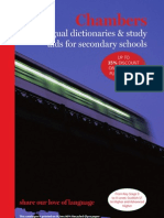 Chambers Bilingual Dictionaries & Study Aids for Secondary Schools