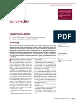 Spirometers, 2008.