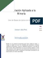 Uso de Bases de Datos Con Matlab