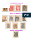 Post Stamps Collection