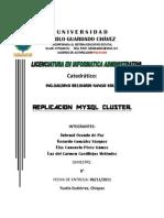 Cluster Conf Practica Mysql Replicacion