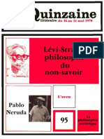 Quinzaine littéraire 95 mai 1970
