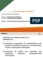 Engenharia de Software Aula 01 - 2013