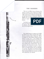 Bassoon Information
